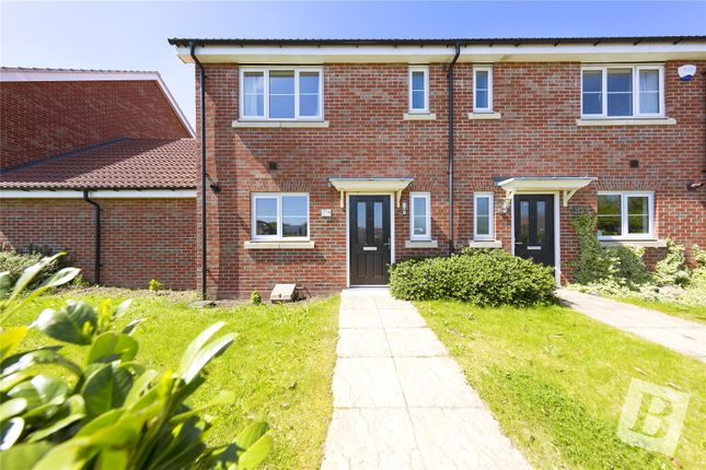 Thumbnail Semi-detached house for sale in Markhams Terrace, Markhams Chase, Lee Chapel North, Essex
