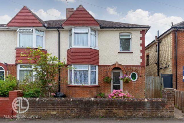 Thumbnail Semi-detached house for sale in Lancaster Ave, Hitchin