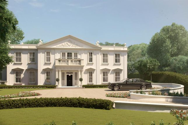 Thumbnail Flat for sale in East Drive, Virginia Water, Surrey