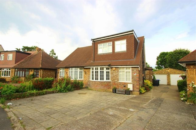 Thumbnail Semi-detached bungalow to rent in Chequers Orchard, Iver, Buckinghamshire