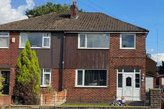 Thumbnail Semi-detached house to rent in Daniel Adamson Avenue, Partington