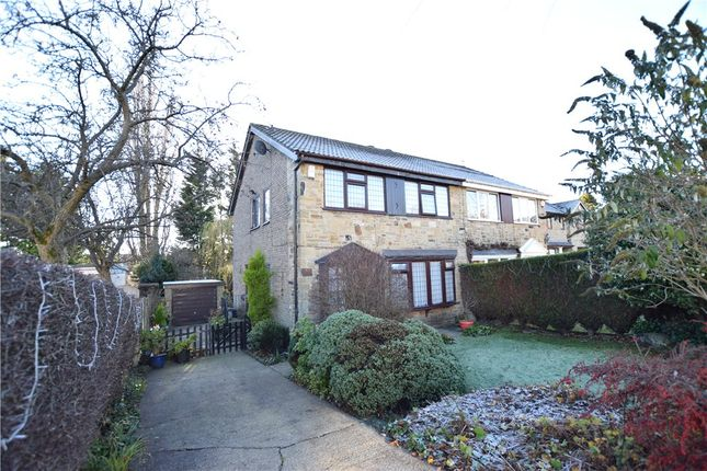 Thumbnail Semi-detached house to rent in Woodhall Park Mount, Stanningley, Pudsey, Leeds
