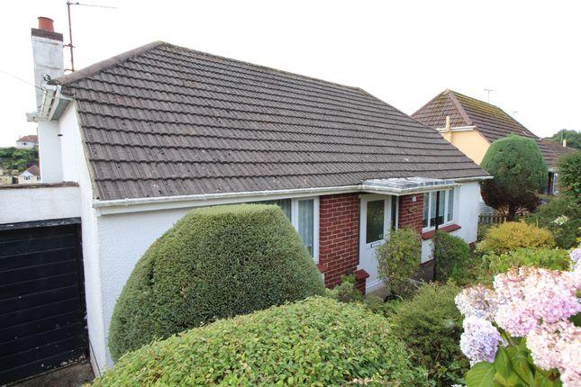 Thumbnail Detached bungalow for sale in Cecilia Road, Paignton