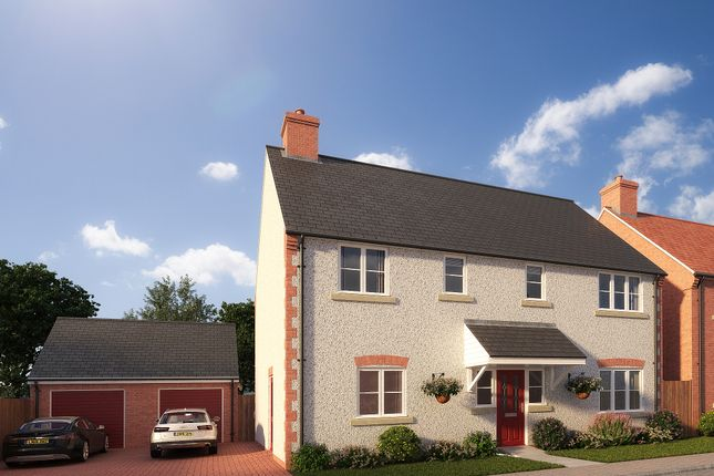 Thumbnail Detached house for sale in Plot 21, South Paddock, 35 Herberts Meadow, Clifton, Beds