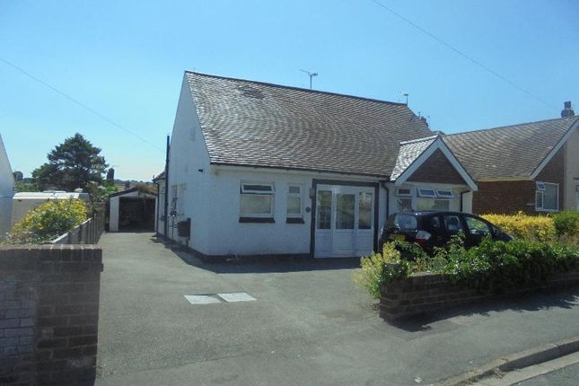 Thumbnail Detached bungalow for sale in Hafod Road East, Penrhyn Bay