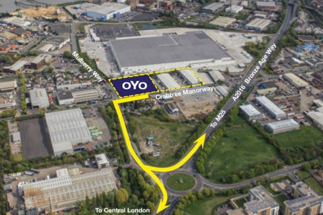 Thumbnail Industrial for sale in Unit Oyo Belvedere, Crabtree Manorway North, Belvedere, Kent