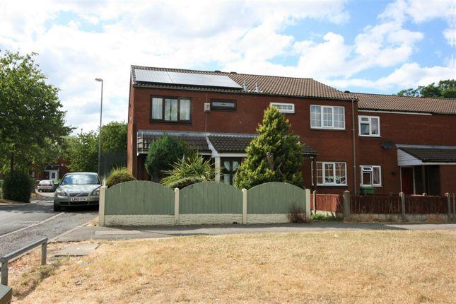 Thumbnail End terrace house for sale in Paddington Walk, Walsall