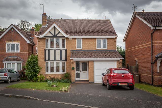 Thumbnail Detached house for sale in Bede Close, Quarrington, Sleaford