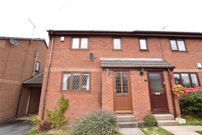 Thumbnail Semi-detached house to rent in Topcliffe Fold, Morley, Leeds