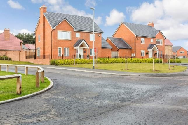 Thumbnail Detached house for sale in Burnholme Way, St. Mary Park, Morpeth, Northumberland