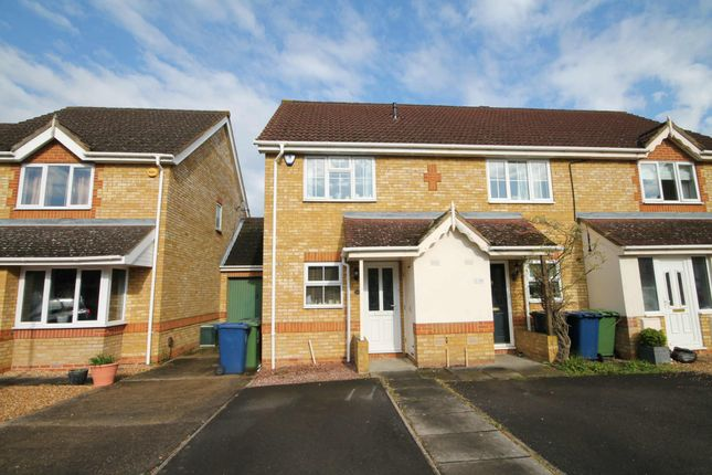 Thumbnail End terrace house to rent in Lucerne Close, Cherry Hinton