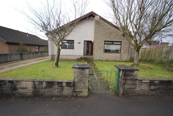 Thumbnail Bungalow for sale in Dykesmains Road, Saltcoats