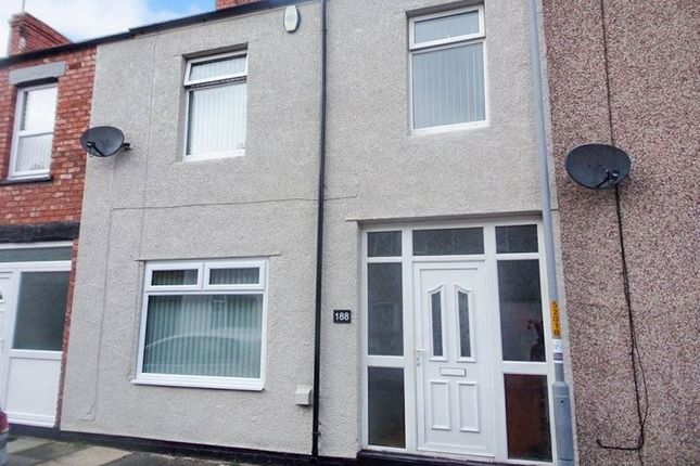 Thumbnail Terraced house to rent in Gladstone Street, Blyth