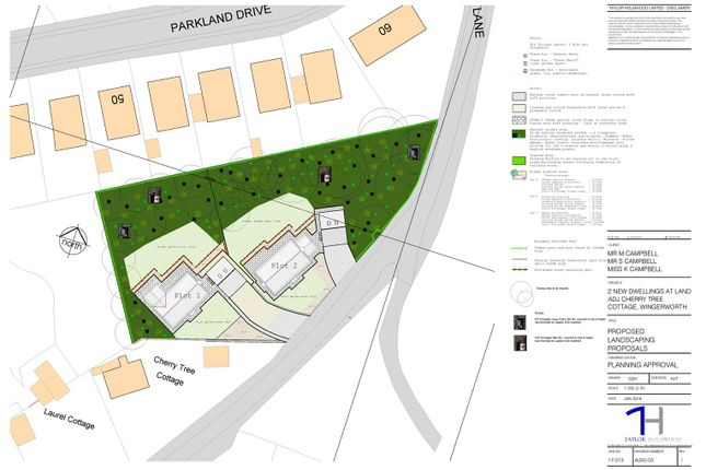 Thumbnail Land for sale in Hockley Lane, Wingerworth, Chesterfield