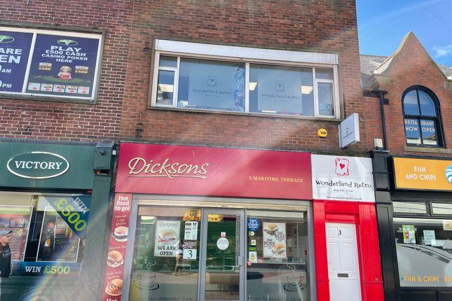 Thumbnail Retail premises to let in Ground Floor 3 Maritme Terrace, Sunderland