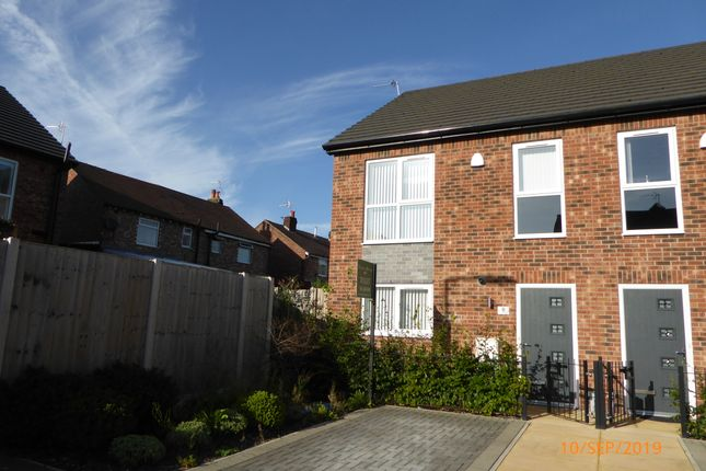 Thumbnail Semi-detached house to rent in Weaver Close, Hazel Grove, Stockport