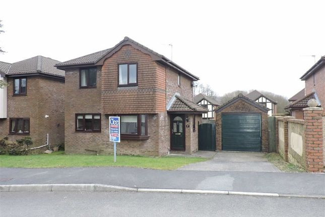Thumbnail Detached house for sale in Parc Bryn Rhos, Glanamman, Ammanford