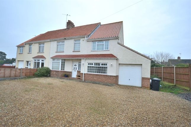 Thumbnail Semi-detached house for sale in Wootton Road, South Wootton, King's Lynn