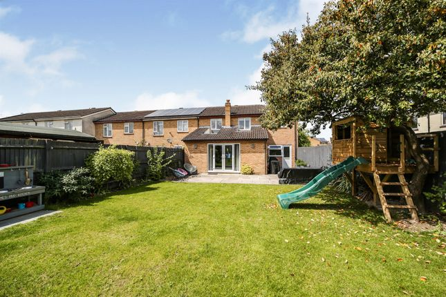Thumbnail End terrace house for sale in Medcalfe Way, Melbourn, Royston