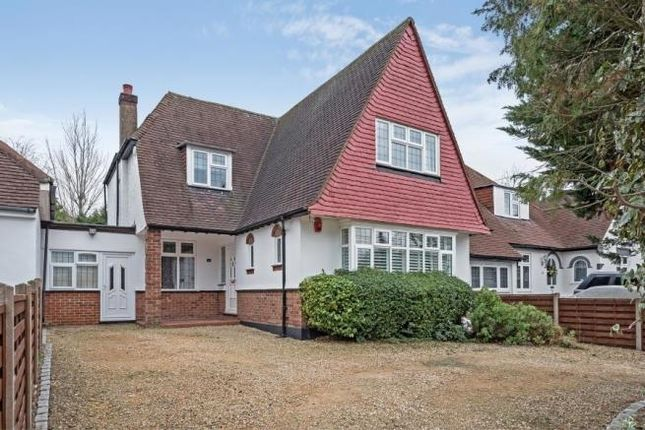 Thumbnail Detached house to rent in Hillside Road, Northwood