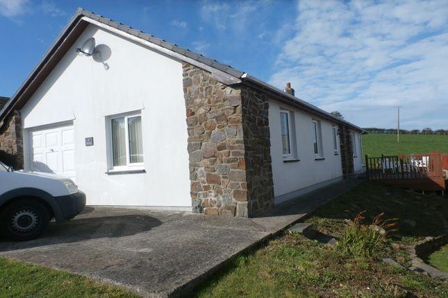 Thumbnail Detached bungalow for sale in Rhiwgoch, Aberaeron