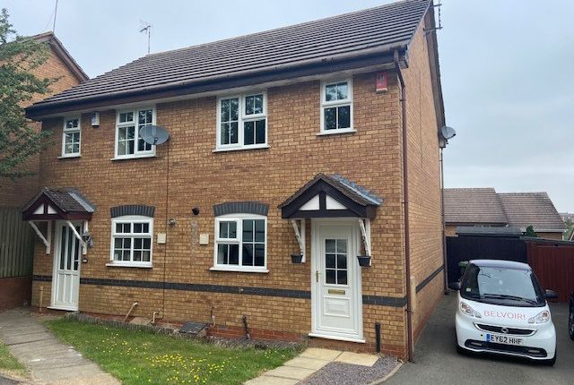 2 bed semi-detached house to rent in Webb Drive, Rugby CV23