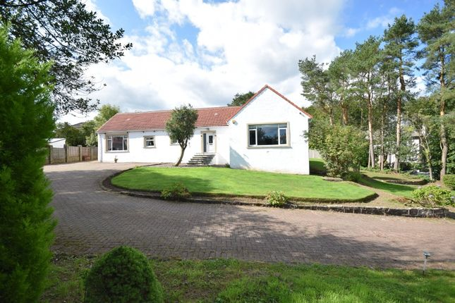Thumbnail Detached bungalow for sale in Woodside Drive, Waterfoot, Glasgow