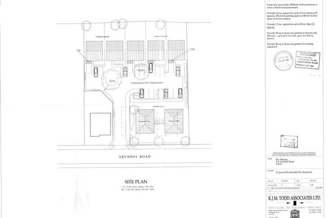 Thumbnail Land for sale in Arundel Road, Luton