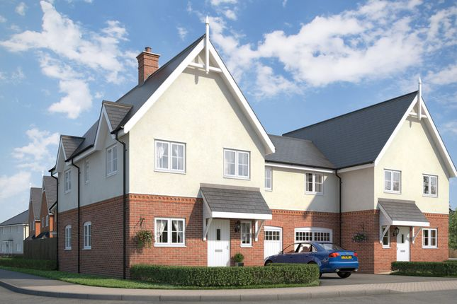 Thumbnail Semi-detached house for sale in The Rosefinch At Countryside At Chesterwell, Mile End, Colchester, Essex
