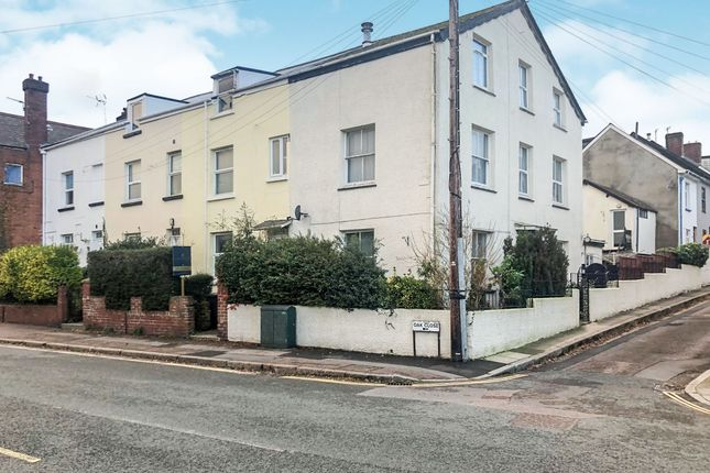 Thumbnail End terrace house for sale in Oakfield Street, Heavitree, Exeter
