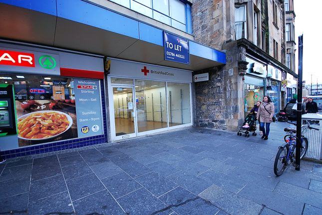 Thumbnail Retail premises to let in Murray Place, Stirling