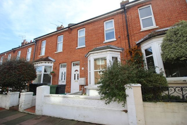 Thumbnail Terraced house for sale in Salehurst Road, Old Town, Eastbourne