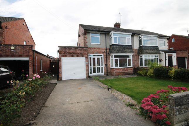 Thumbnail Semi-detached house for sale in Brooklands, Bishop Auckland