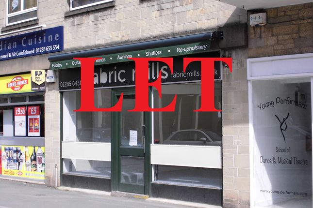 Thumbnail Retail premises to let in Dyer Street, Cirencester