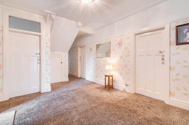 Hallway of Wilbury Crescent, Hove, East Sussex, Uk BN3