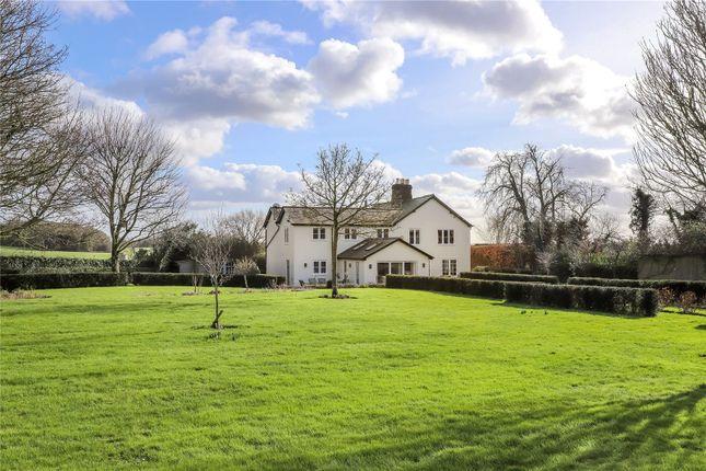 Thumbnail Detached house for sale in Manor Farm Lane, Michelmersh, Romsey, Hampshire