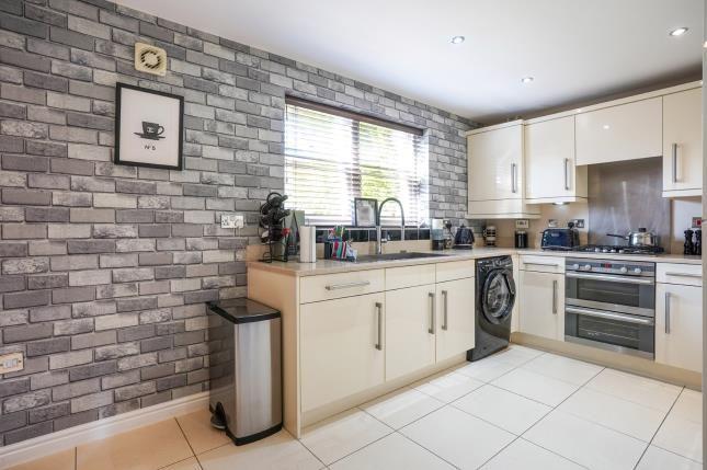 Kitchen of Mill Weir Gardens, Sefton Village, Liverpool, Merseyside L29