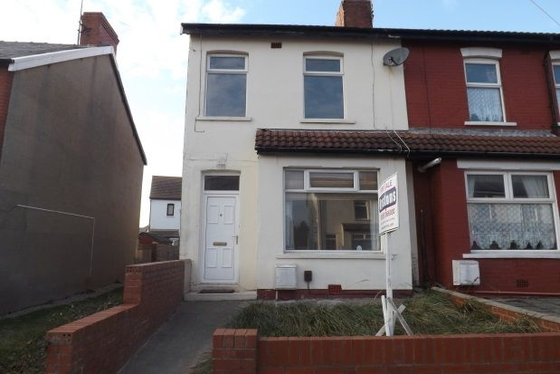 Thumbnail End terrace house to rent in Kelvin Road, Thornton-Cleveleys