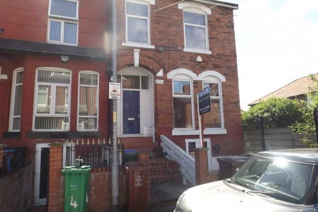 Thumbnail Terraced house to rent in Ash Grove, Longsight, Manchester