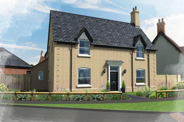 Thumbnail Detached house for sale in Plot 46, Hill Place, Brington, Huntingdon