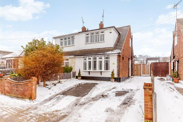 Thumbnail Semi-detached house for sale in Kents Hill Road North, Benfleet