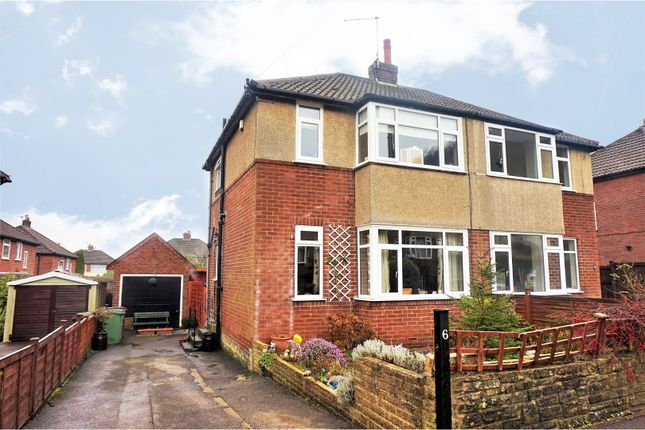 Thumbnail Semi-detached house for sale in Milner Bank, Otley
