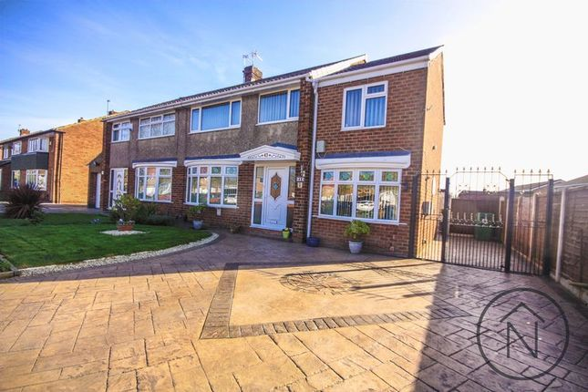 Thumbnail Semi-detached house for sale in Tunstall Avenue, Billingham