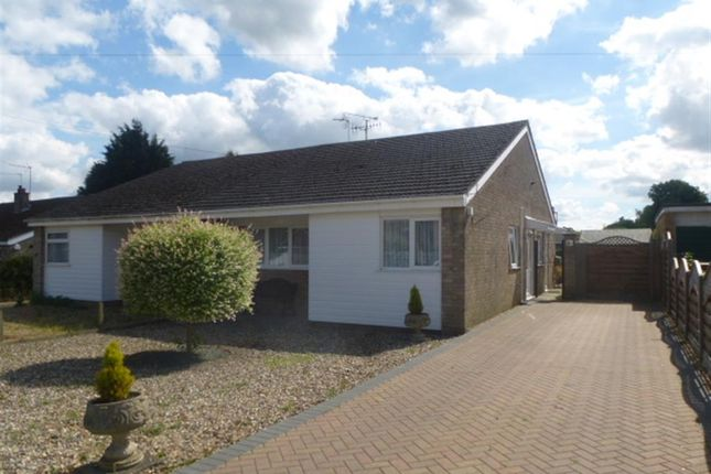 Thumbnail Semi-detached bungalow for sale in Redgate, Thetford