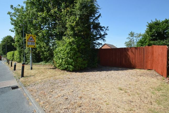 Thumbnail Land for sale in Elgar Close, Redditch