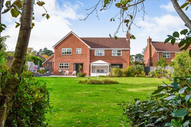 Thumbnail Detached house for sale in Halfway Close, Hilperton, Trowbridge