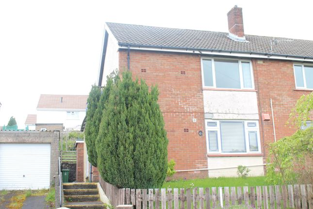 Thumbnail Flat for sale in Newman Road, Trevethin, Pontypool