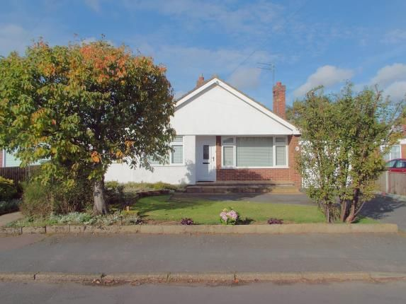 Thumbnail Bungalow for sale in Taverham, Norwich, Norfolk
