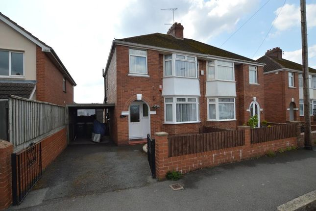 Thumbnail Semi-detached house for sale in Summerway, Exeter, Devon