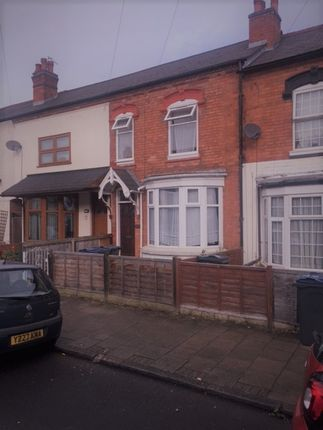 Thumbnail Terraced house to rent in Alexander Road, Acocks Green